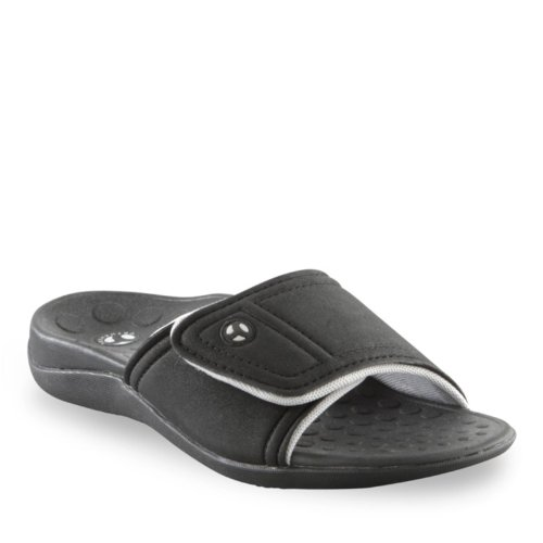 Black Orthaheel Gray Sandals Vionic Unisex Technology Kiwi xw0dPwqXZ