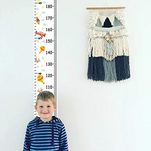 owhelmlqff-Wall Hanging,Home Pendant,Nordic Children Height Ruler Hanging Canvas Growth Chart Kids Room Wall Decor
