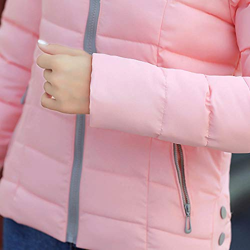 Manteau Printemps Veste Longue Jacket Sports Sweat Frenchenal Rose Hiver Femme D'hiver Long dOw1SqdA