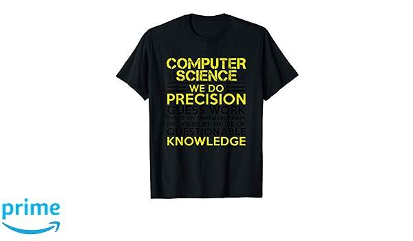 Amazon Com Computer Science T Shirt Clothing