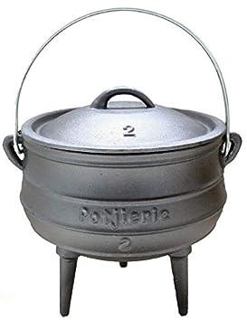 potjie Talla 4 – südafr Americanos Dutch Oven – para 8 – 10 personas