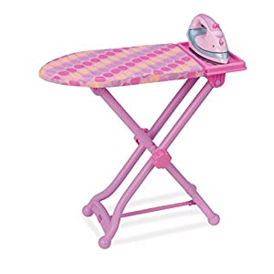 Play Circle by Battat – Best Pressed Ironing Board Set – 3-piece Colorful Toy Ironing Board Set and Play Iron with Sounds– Toy Laundry Set for Toddlers Age 3 Years and Up