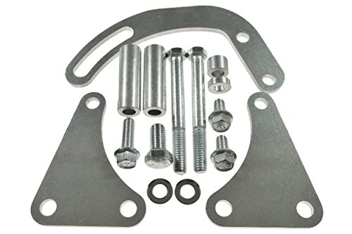 BBC POWER STEERING PUMP BRACKET Billet Adjustable LWP 454 Big Block Chevy 551497 (Aluminum Power Steering Pulley compare prices)