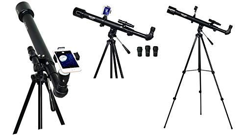 Telescope for Kids and Adults 50mm Smart Portable Travel Telescope Astronomy Observing Moon and Scenery Unknown
