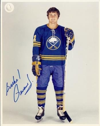 Gil Perreault Signed - Autographed Buffalo Sabres 8x10 inch Photo - Guaranteed to pass or JSA - Hall of Famer - PSA/DNA Certified (Sabres Buffalo Photo Nhl Signed)