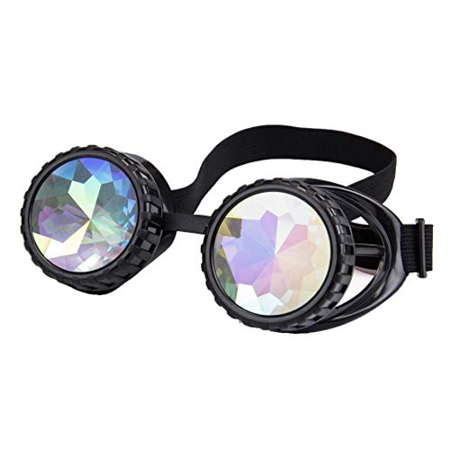 Novelty Cosplay Goggles, Elastic Band Pilot Style Halloween Cosplay Goggles -
