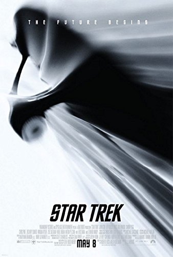 Star Trek 2009 S/S Movie Poster 11x17