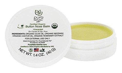 (Pura Naturals Pet Certified Organic Button Nose Butter )