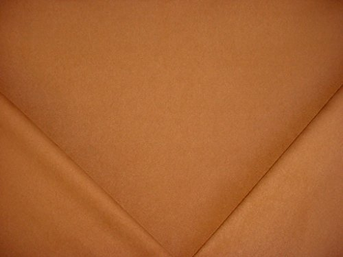American Silks 3103 Sensuede Flannelsuede - Copper Brown Designer Faux Suede Leatherette Microfiber Upholstery Drapery Fabric - By the (Kravet Silk)