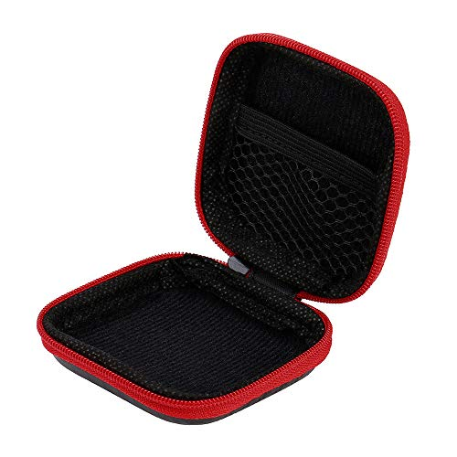 Orcbee  _for Apple Airpods Earphones Case Box Size Holder Hard Shell EVA Carrying (Red) by 💗 Orcbee 💗 _Cell Phone Accessories (Image #4)