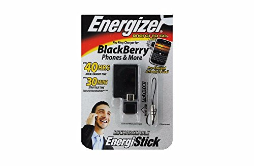 ortable Charger for BlackBerry - Black (Energizer Compact Travel Charger)