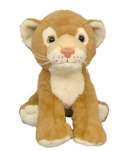 BEAREGARDS.COM Personalized Recordable Message 15 Inch Talking Teddy Bear Lion w/ 30 Seconds of Recording Time. by BEAREGARDS.COM
