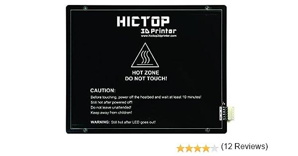 HICTOP 275 x 220 mm MK3 aluminio climatizada Cama caliente cama ...
