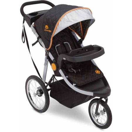 Delta Children J Is for Jeep Brand Cross-country All-terrain Jogging Stroller (Trek Tonal)