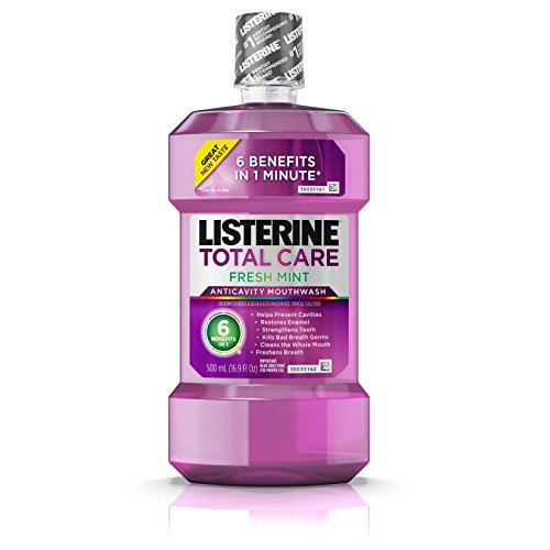 Listerine Total Care Anticavity Mouthwash, Fresh Mint, 16.91 Fluid Ounce (Pack of (Best Listerine Acne Treatments)