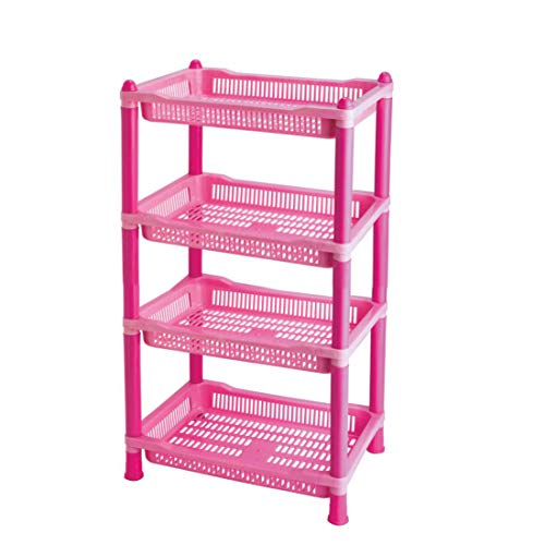 FABLE 4 Layer Space Saving Storage Organizer Rack Shelf