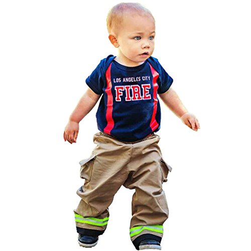 Firefighter Toddler Outfit (2T)