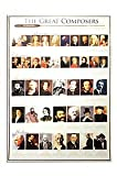 Classical Composers Music Poster