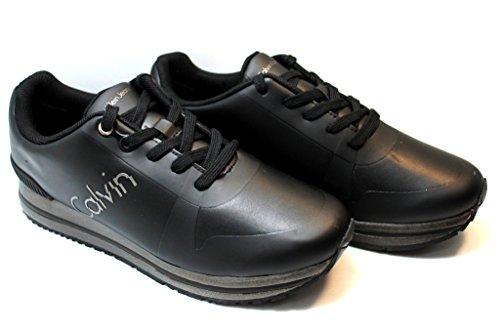 Uomo Calvin Rub Edwin Nero Smooth Klein HF Sneaker YTHwxY