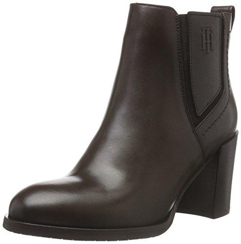 Tommy Hilfiger P1285enelope 12a, Zapatillas de Estar por Casa para Mujer Marrón - Braun (Coffee 211)