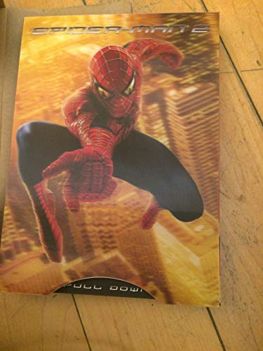Spider-Man 2, digital press kit, NOT THE MOVIE, very cool pop-up with disk