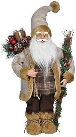 Babbo Natale 60 Cm.Bello Babbo Natale 60 Cm Altezza Amazon It Giardino E Giardinaggio