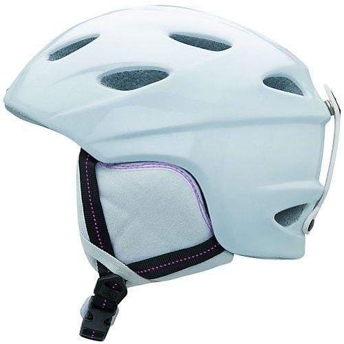 Giro Ember 2009 Snow Helmet (White Eleanor Birds, Small), Outdoor Stuffs