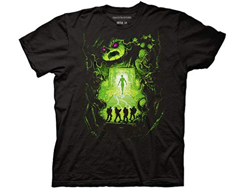 Official Ghostbusters Dan Mumford Poster Adult T-Shirt, S to 3XL