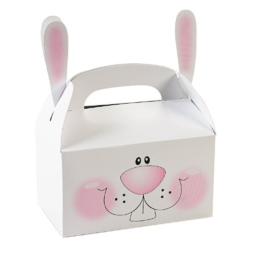 Adorable Easter Bunny Treat Boxes
