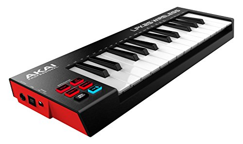 Akai Professional LPK25 WIRELESS | 25 Mini-Key Bluetooth MIDI Keyboard