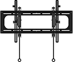 Tilt or extend your television for maximum viewing enjoyment with this Sanus Advanced Tilt TV wall mount. Able to support up to 150 pounds of weight, this mount can easily handle flat screen televisions up to 90 inches. Lock and release on th...
