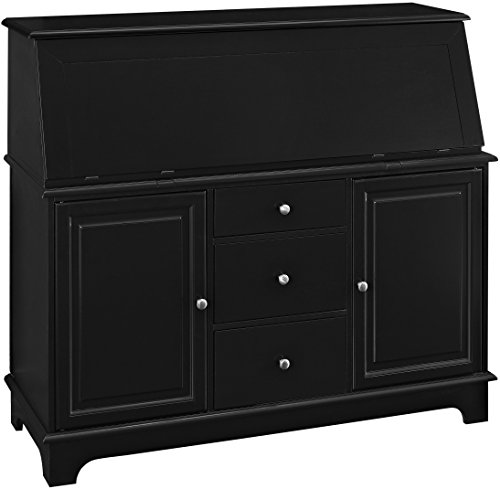Crosley Furniture Sullivan Secretary Desk - Black