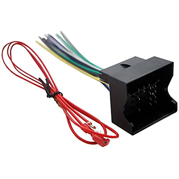 compatible with pontiac g8 2008-2009 factory stereo to aftermarket radio  harness adapter: car electronics - amazon.com  amazon.com