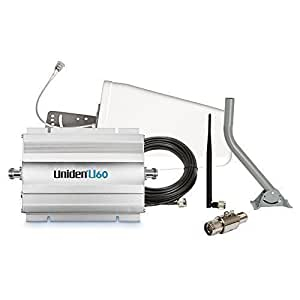 Uniden U60 2000 Sq.Ft Cellular Signal Booster Kit for Home and Office