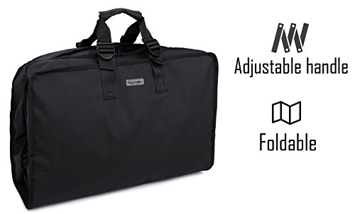 Magictodoor Travel Garment Bag 40'' for Suit/Dress w/Adjustable Handle by Magictodoor (Image #2)