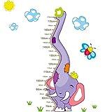 Dwing D1059 Sticker animal Height Chart Measure Kids/Children Wall Sticker art Decal Stickers Decal DIY