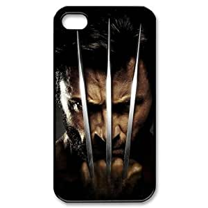 C-EUR Customized Print Wolverine Pattern Back Case for iPhone 4/4S by lolosakes