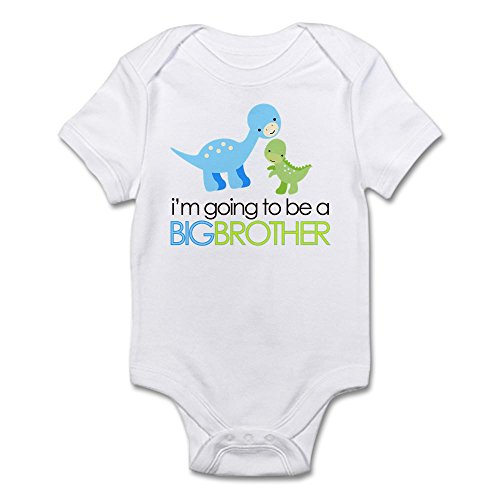 CafePress Dinosaur Brother Infant Bodysuit