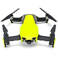 Wrapgrade Poly Skin for DJI Mavic Air   Unit A: Colored Parts and Rear Trim (NEON YELLOW)