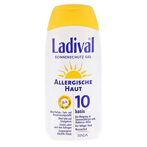 LADIVAL allergische Haut Gel LSF 10 200 ml