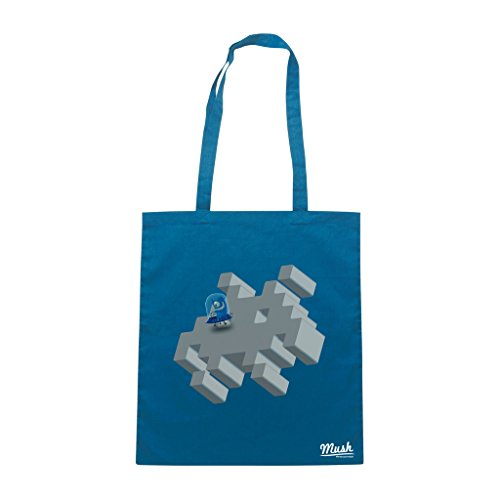 Borsa PLANET SPACE INVADERS - Blu Royal - GAMES by Mush Dress Your Style Venta Barata Con Tarjeta De Crédito 5iupZkvy