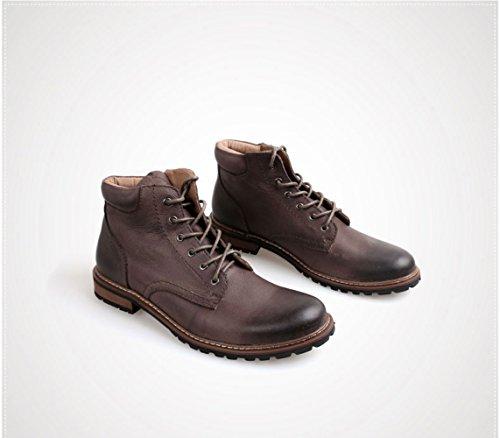 da in Vera Uomo Stivali Martin Middle Boots LEDLFIE Retr Pelle Help aw18qZC