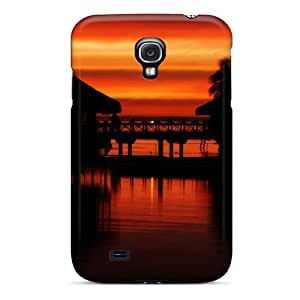 RichJWen Premium Protective Hard Case For Galaxy S4- Nice Design - Tropical Sunset