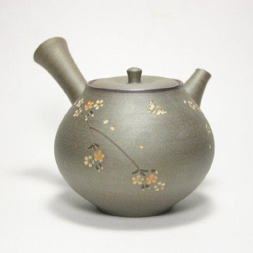 Japanese teapot Kyusu/Tokoname kiln/potter: Seiho Tsuzuki/tranquility by ZentealifeCom