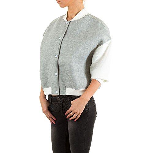 Ital-Design - Chaqueta - para mujer gris