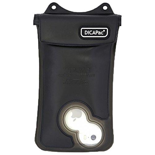 DiCAPac WP-i10 Wasserdichte Hülle und Schutztasche für Apple iPhone 5 und iPhone 6 in schwarz