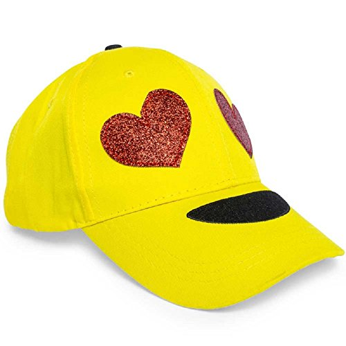 Emoji Baseball Cap (Heart Eyes)