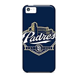 Cute Appearance Cover/tpu FxQ867JADt Baseball San Diego Padres 1 Case For Iphone 5c