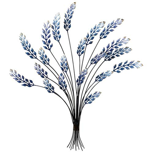 Midwest-CBK Blue Enamel Bouquet Wall Decor