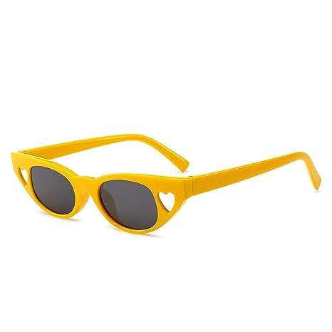 Yangjing-hl Gafas de Sol Tendencia Caja pequeña Gafas de Sol ...